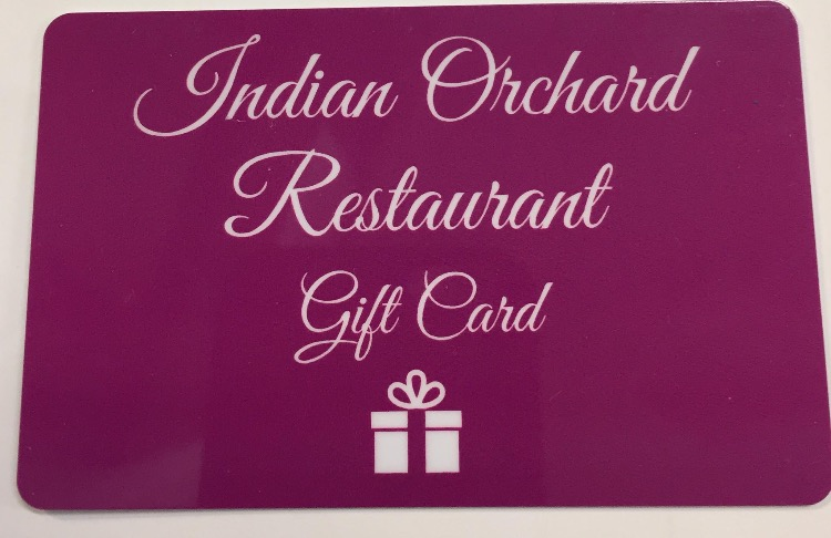 Indian Orchard Blackpool Gift Card